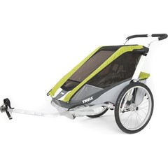 Многофункциональная детская коляска, Thule, Chariot Cougar2, 2-мест. + ПОДАРОК