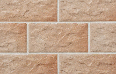 Stroeher, плитка для цоколя и фасада, цвет KS 03 rose, серия Kerabig, Glasiert, глазурованная, 302x148x12