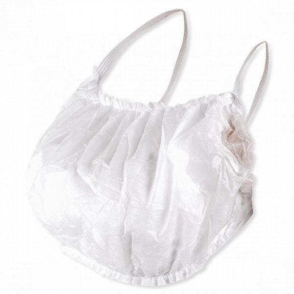 Одноразовая одежда, белье Одноразовый бюстье-топик с открытой спиной, белый, спанбонд (уп.10шт.) бюстье-топик-с-открытой-спиной-белый.jpg