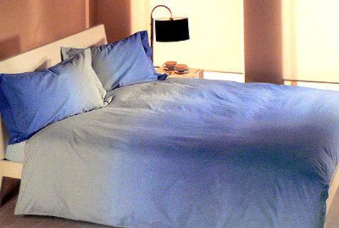 Постельное белье 2 спальное евро макси Caleffi Helsinki фиолетовое
