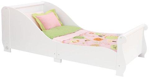 KidKraft Сани - детская кровать белая 86730_KE