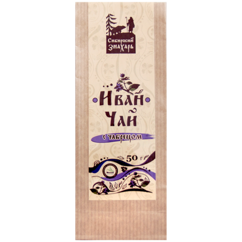 Иван чай с чабрецом 50 грамм