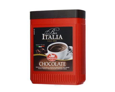 Горячий шоколад Saquella Bar Italia Chocolate, 400 г