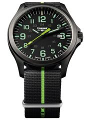 Наручные часы Traser P67 OFFICER PRO Gunmetal Black/Lime 107426 (нато)