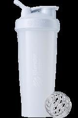 BlenderBottle Classic 946 мл Шейкер классический с венчиком-пружинкой белый
