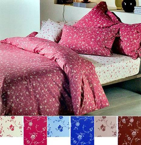 Постельное белье 2 спальное евро макси Caleffi Mary коралловое