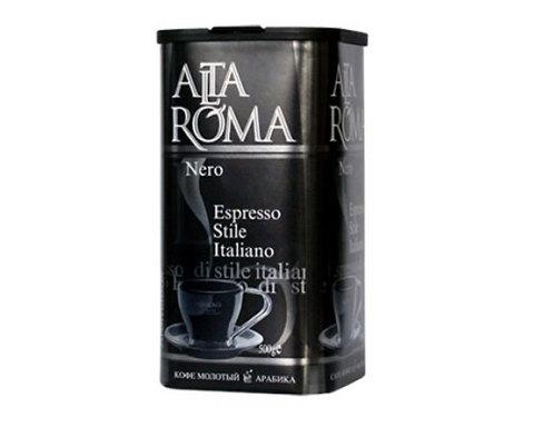 Кофе молотый Alta Roma Nero, 250 г (Альта Рома)
