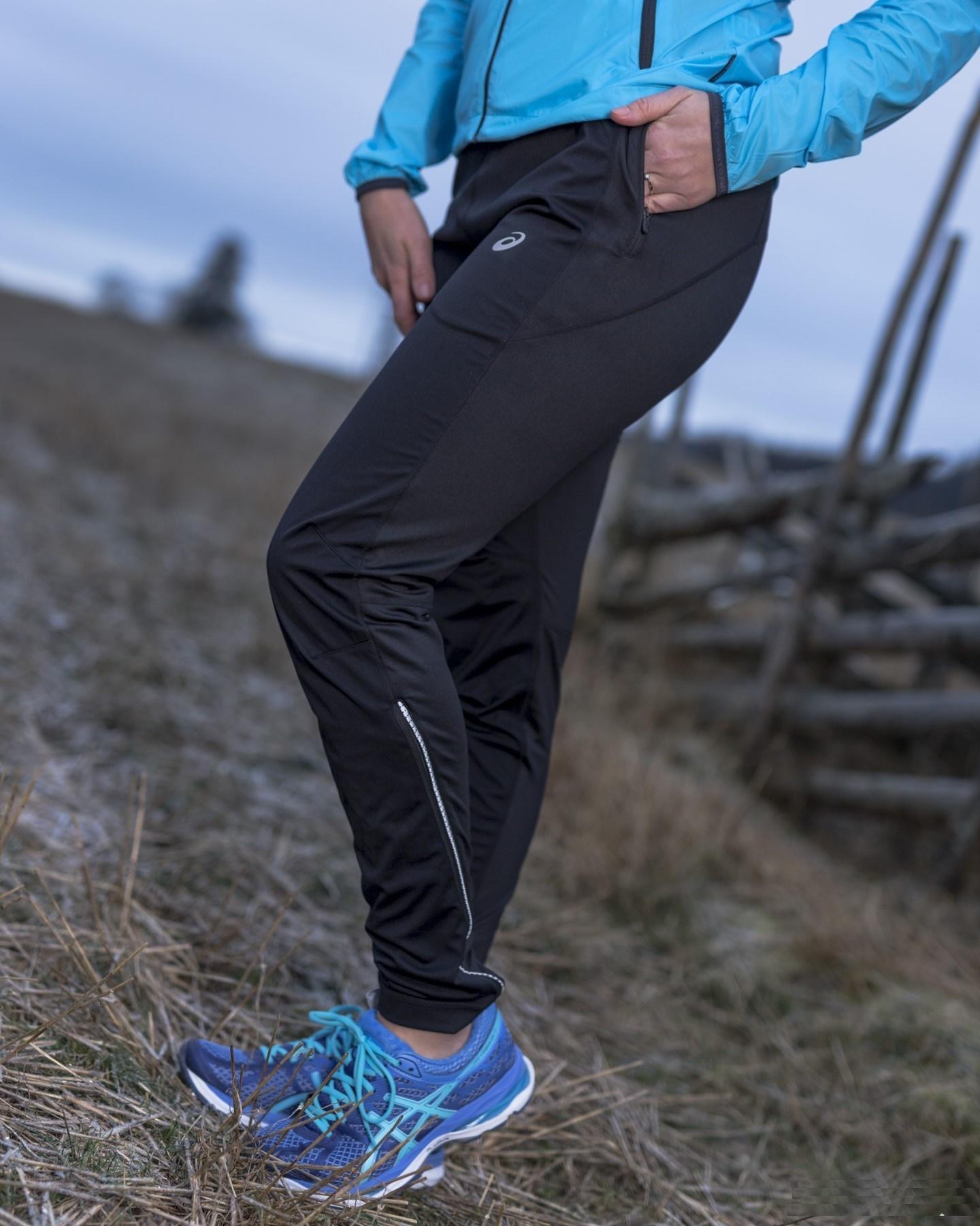 Женский беговой костюм с ветрозащитой асикс Woven WindBlock (110426 8091-121129 0904)