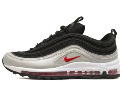Кроссовки Мужские Nike Air Max 97 Black Silver Red