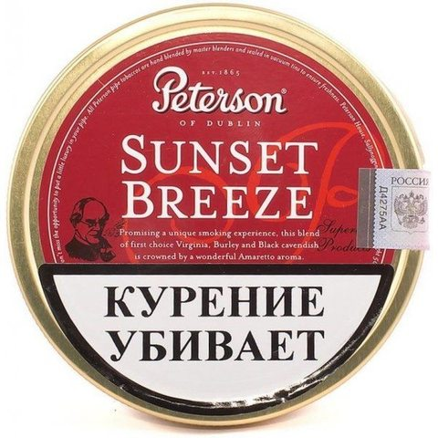 Табак PETERSON  SUNSET BREEZE (50gr)