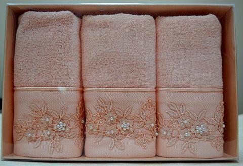 Набор махровых салфеток MASAL  30х50 3шт Soft Cotton (Турция)