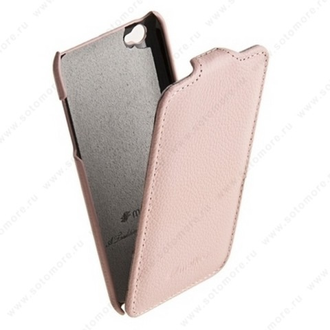 Чехол-флип Melkco для Apple iPod Touch 4th Leather Case Jacka Type (Pink LC)