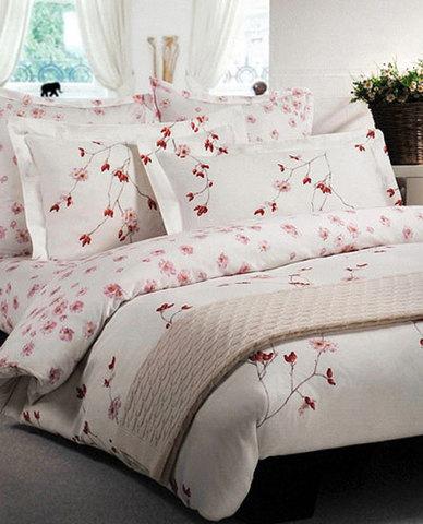 Постельное белье 2 спальное евро Mirabello Rose Hiver розовое