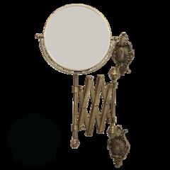 Зеркало оптическое (3х) настенное Migliore Elizabetta  ML.ELB-60.119 H40xP60 cm; D18 cm H32,5 cm