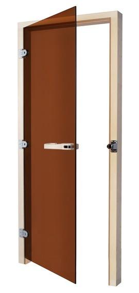 Двери: Дверь SAWO 730-3SGA-L 7/19 (бронза, левая, без порога) раздвижная дверь купить в спб
