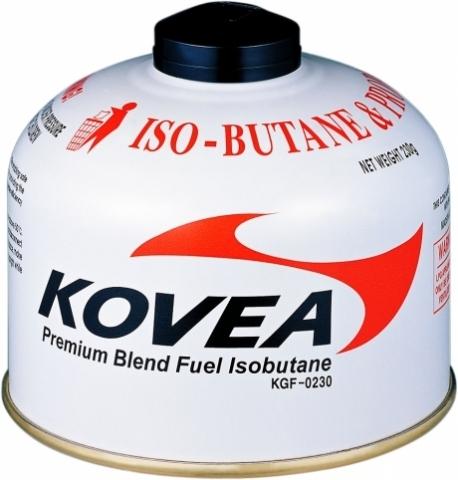 баллон Kovea для газовой горелки 230 (изобутан/пропан 70/30)