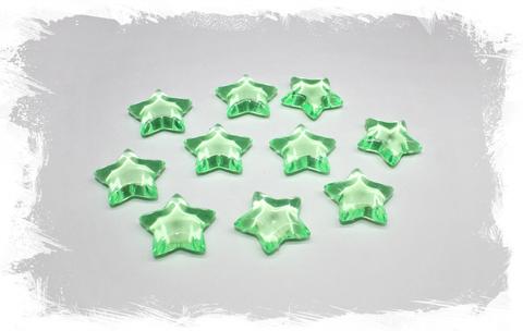 Звездочки пластиковые декоративные