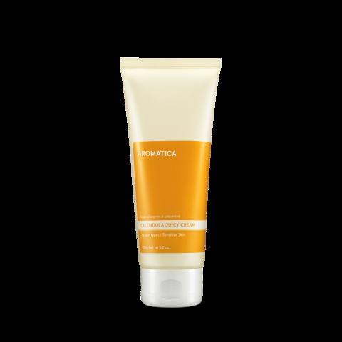 Гипоаллергенный увлажняющий крем с календулой, 150 г / Aromatica Calendula Juicy Cream