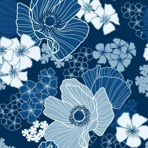 Синие маки