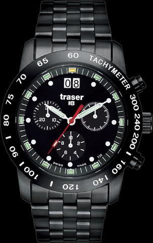 Купить Наручные часы Traser Classic Chrono BD Pro Blue 100260 по доступной цене