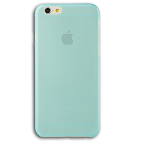 Ozaki O!coat 0.3 Jelly for iPhone 6 / 6S Cyan (сине-зелёный)