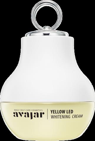 AVAJAR | Отбеливающий крем с аппликатором Yellow LED Whitening Cream (Special PKG)