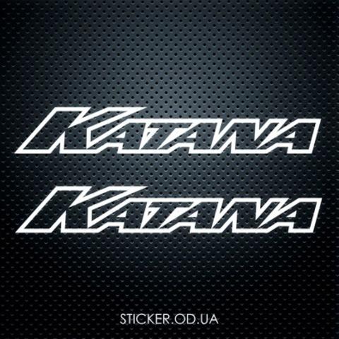 Виниловая наклейка на мотоцикл Suzuki