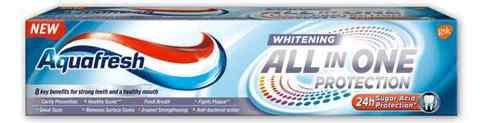 "Зубная паста ""Aquafresh"" All-in-One Protection White 75мл"