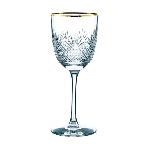 Бокал для вина Red Wine  с золотой каймой 320 мл, артикул 93887. Серия Royal