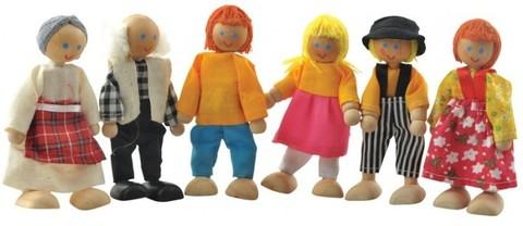 Набор кукол 6шт