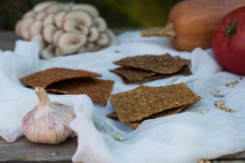 Хлебцы MIX (Грибные, Тыквенные, Томатные) 100 грамм