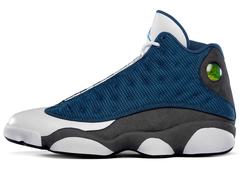 Кроссовки Мужские Nike Air Jordan XIII White Grey Navy