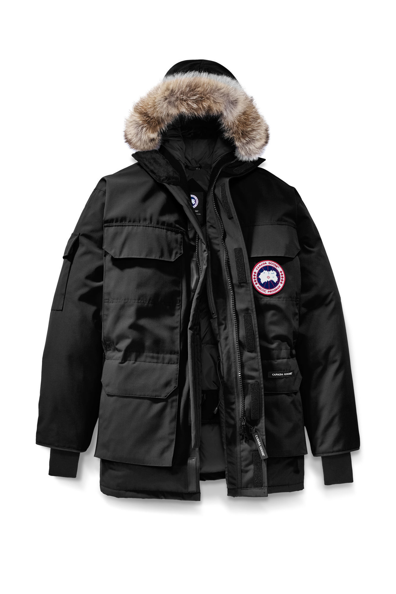 EXPEDITION PARKA BLACK MEN'S 4566