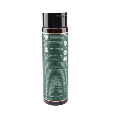Jurassic SPA, Натуральный шампунь для укрепления волос, 270мл