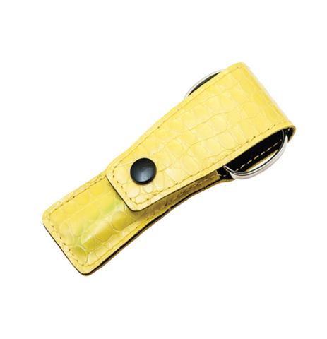 Маникюрный набор в чехле Baruffaldi желтый