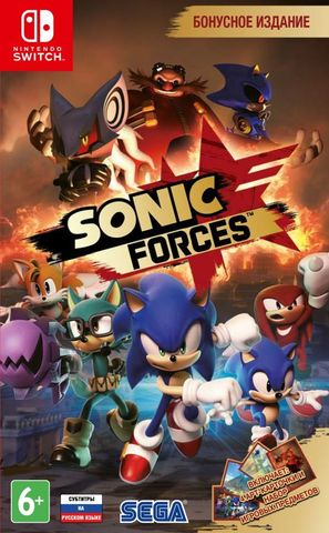 Nintendo Switch Sonic Forces (русские субтитры)