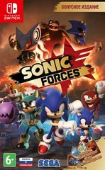 Nintendo Switch Sonic Forces (русские субтитры)