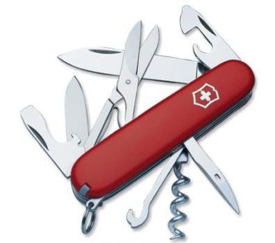Нож Victorinox Climber, 91 мм, 14 функций, красный*