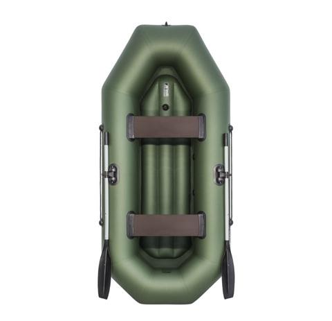 Лодка ПВХ АКВА-ОПТИМА 260 НД зеленый