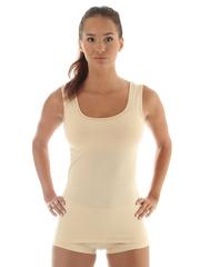 Женская термомайка Brubeck Comfort Wool (TA10240) бежевая