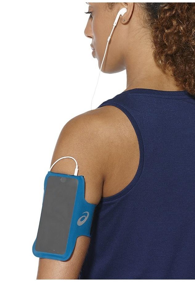 Карман на руку для фитнеса розовый для женщин Asics MP3 127670 0692 розовый