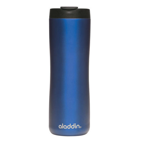 Термокружка Aladdin 470 мл, синяя, сталь