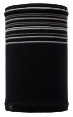 Вязаный шарф-труба с флисовой подкладкой Buff Stowe Black