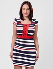201123-1 платье сине-черное