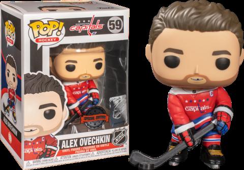 Фигурка Funko Pop! Sports: NHL - Alex Ovechkin (Excl. to Fanatics)