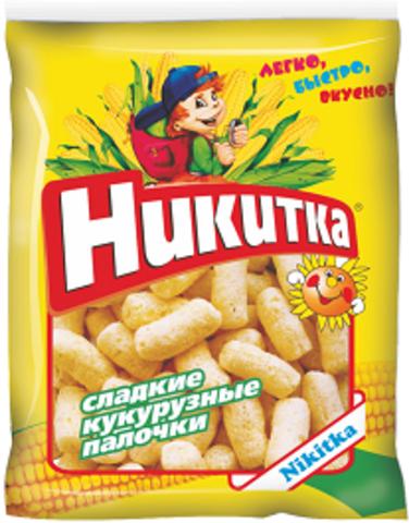 """Кукурузные палочки """"Никитка"""" 160г"""