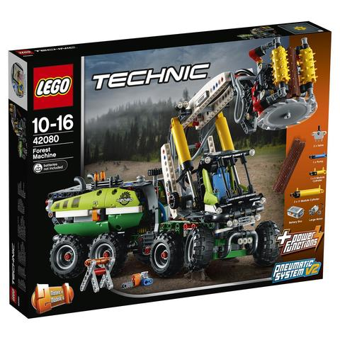 LEGO Technic: Лесозаготовительная машина 42080 — Forest Machine — Лего Техник