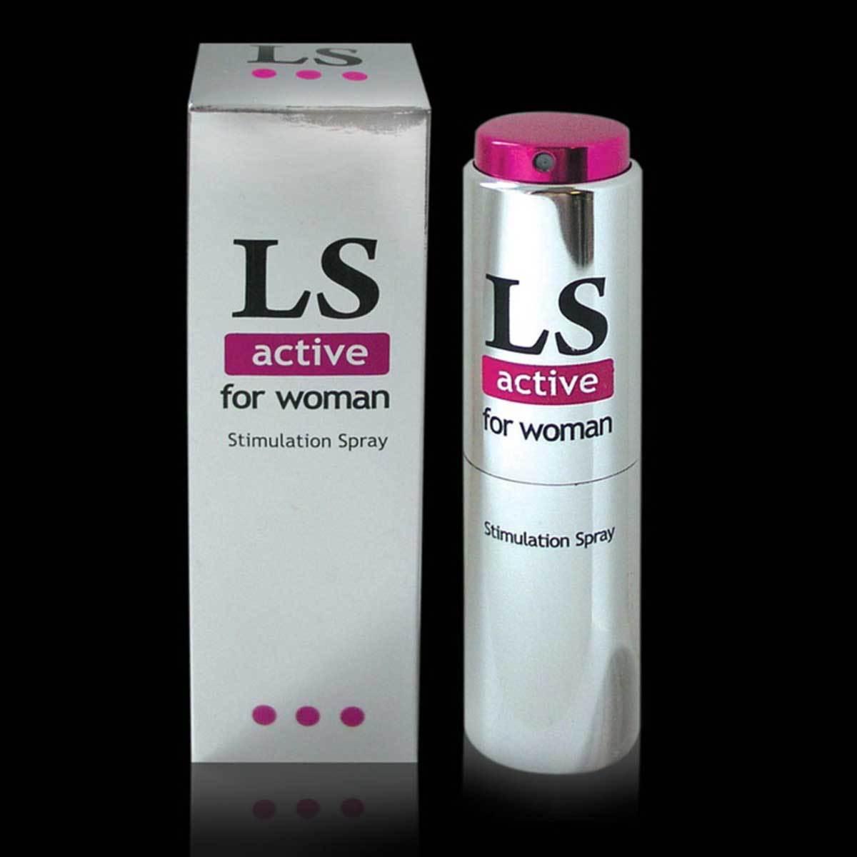 Возбуждающие: Спрей-стимулятор для женщин Lovespray Active Woman - 18 мл.