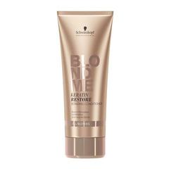 Schwarzkopf Blondme Keratin Restore Bonding Conditioner - Бондинг-кондиционер кератиновое восстановление для волос блонд