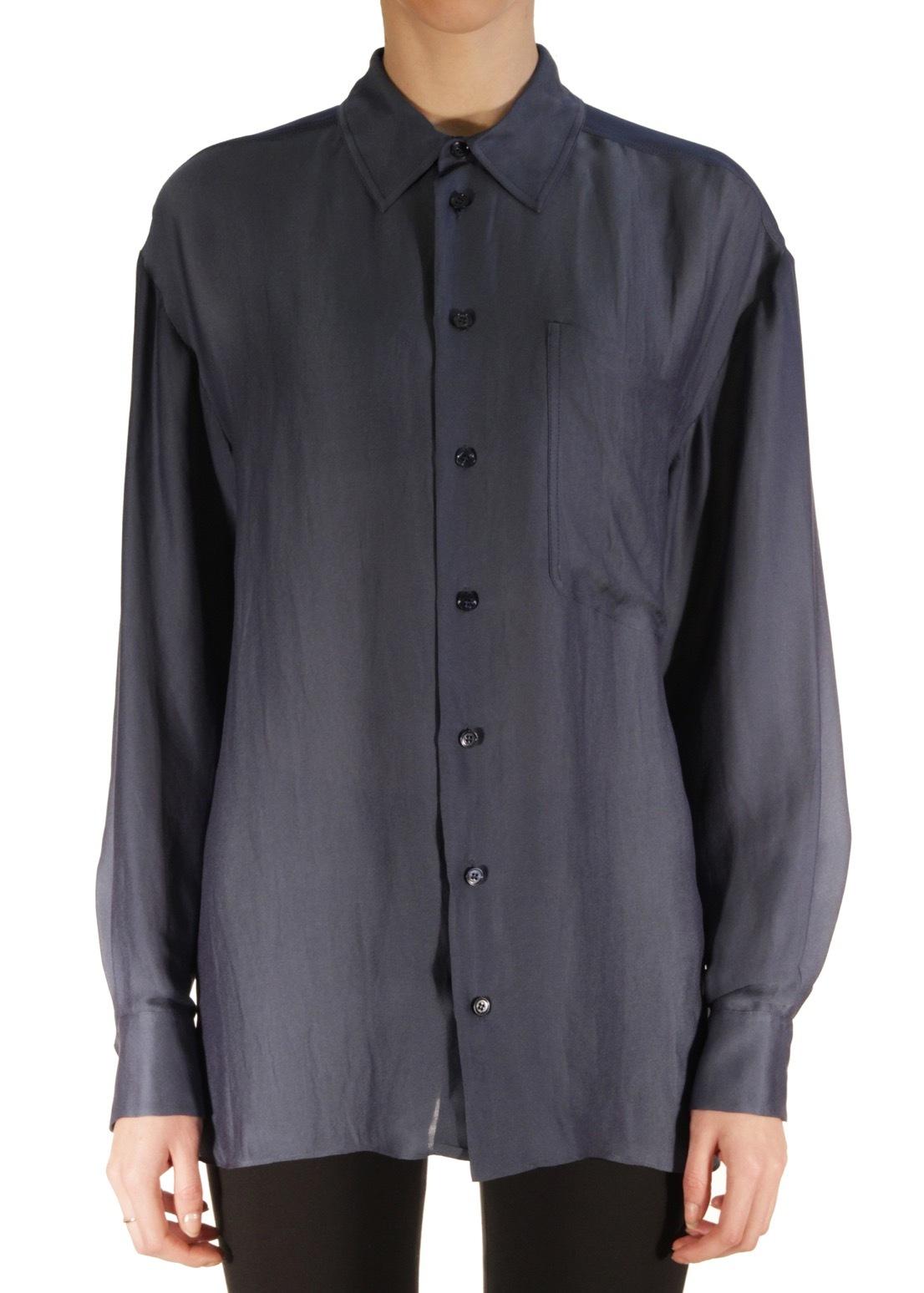 Рубашка из вискозы и шелка STELLA MCCARTNEY